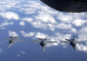 Японские истребители у спорных островов заставили китайцев развернуть самолеты