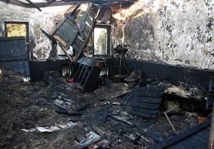 В Донецкой области неизвестные сожгли три храма адвентистов