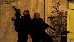 Полиция Бразилии заняла одну из крупнейших фавел Рио