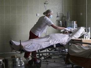 Роженица, госпитализированная в Донецке со свиным гриппом, находится в тяжелом состоянии
