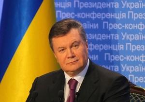 Янукович поздравил Кличко с победой