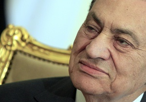 Мубарака обвинили в умышленном убийстве протестующих