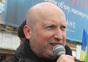 Турчинов: Этапирование в колонию является подарком Тимошенко от Януковича к Новому году