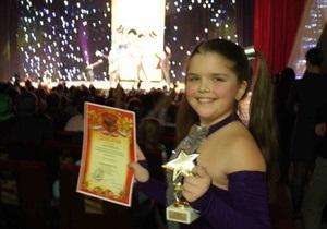 12-летняя киевлянка победила на песенном конкурсе в Москве