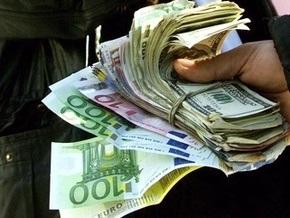 Доллар упал на межбанке