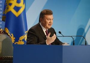 Янукович призвал добывать больше угля, закупать газ в Европе и изучать перспективы сланцев