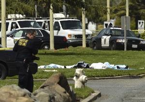 Стрельба в американском колледже: убито семь человек