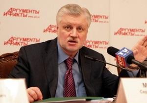 Партия спикера Совета Федерации пообещала поддерживать курс Медведева и Путина