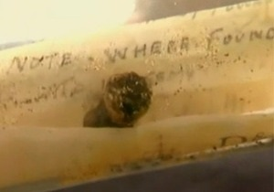 Письмо в бутылке вернулось к семье отправителя спустя 76 лет