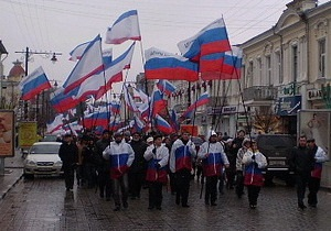 Русское единство решило провести шествие по улицам Львова