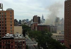 В китайском квартале Манхэттена прогремел взрыв
