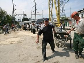 Киевские конструкторы построили не имеющий аналогов в Европе речной кран