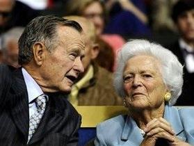 В США госпитализировали Барбару Буш