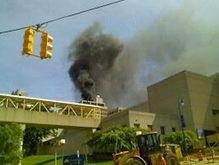 На здание больницы в США упал вертолет: есть пострадавшие