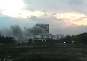 Из загоревшегося Останкинского телецентра эвакуируют людей