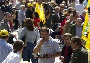 Более половины испанцев отказались от просмотра новостей