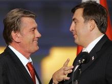 Ющенко поговорил с Саакашвили и направил в Грузию представителя