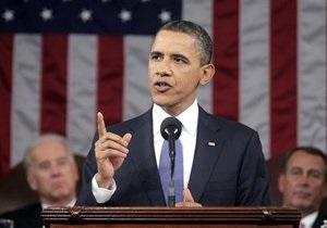 Обама в обращении к Конгрессу вспомнил о космической гонке между США и СССР