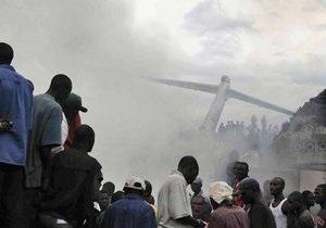 В ДР Конго крушение самолета унесло десятки жизней