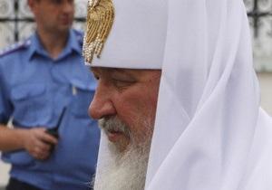 Патриарх Кирилл возложил цветы к Мемориалу памяти жертв голодоморов