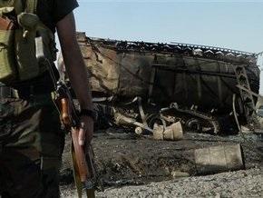 Колонна снабжения НАТО подверглась нападению боевиков возле Кабула