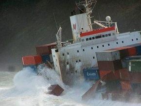 МИД: Украинские моряки при столкновении контейнеровозов в Голландии не пострадали