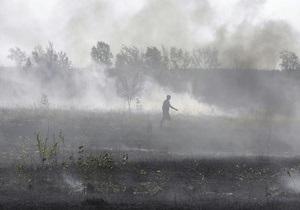 Пожары в Брянской области РФ могут привести к выбросу в атмосферу чернобыльской радиации