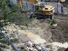 Из-за строительства жилого комплекса в Крыму взорвали канализационный коллектор