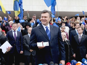 Янукович уверен, что победит с большим отрывом