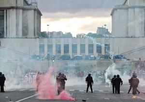 Париж: в ходе вручения трофея ПСЖ произошли беспорядки