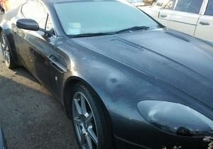 В Украину незаконно ввезли Aston Martin стоимостью свыше полумиллиона гривен