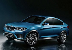 BMW X4. Появились первые фотографии нового кроссовера немецкого производителя