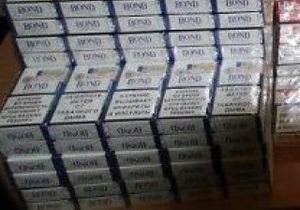 На Волыни контрабандисты пытались вывезти в Польшу 24 тысячи пачек сигарет