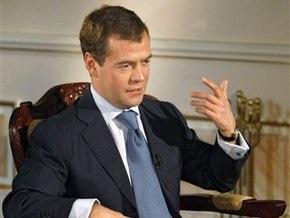 Медведев рассказал Брауну, что Украина присвоила транзитный газ