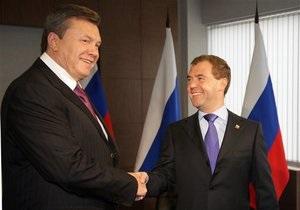 Янукович: Строительство моста Керчь-Кавказ желательно завершить к 2012 году