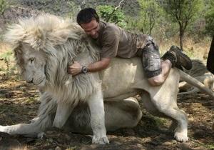 Фотогалерея: Человек и кошки. День из жизни заклинателя львов