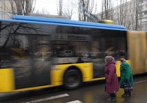 Власти Киева привлекут кредит в 350 млн гривен на закупку трамваев, троллейбусов и автобусов до 2011 года