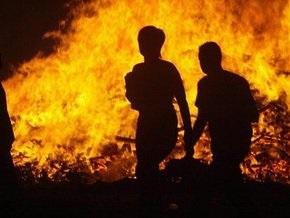 В России во время пожара погибли четверо детей