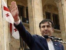 Саакашвили подписался под заявлением президентов РФ и Франции