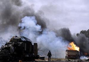 НАТО извинилась за ошибочный удар по ливийским повстанцам