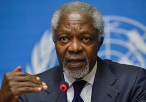 Запад и Россия винят друг друга за отставку Аннана