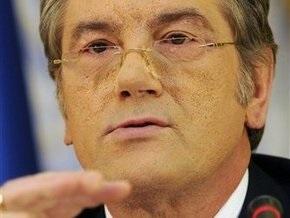 Ющенко может отозвать инициативу о членстве бывших президентов в верхней палате