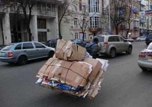 Киевские власти отчитались о результатах уборки города