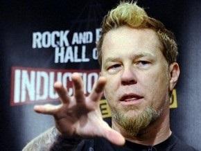 Солист группы Metallica попал в больницу с отравлением