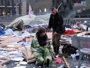 Разгром на Майдане: двое активистов Геть усіх госпитализированы