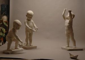 В киевском ботсаду появятся скульптуры детей из мрамора