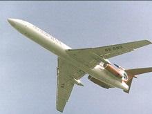 Над Петербургом пассажирский самолет Ту-154 готовится к аварийной посадке