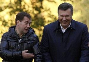 Источник: Янукович и Медведев встретятся в Донецке 18 октября