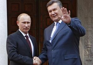 Янукович - день рождения Януковича - Путин - Без работы не обошлось. Путин поздравил Януковича с днем рождения