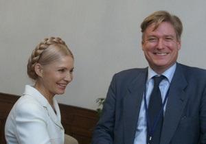 Тимошенко, находящуюся под подпиской о невыезде, пригласили в Брюссель